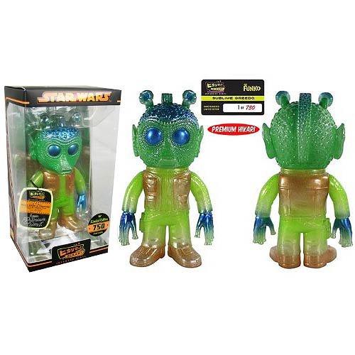 Star Wars Greedo Sublime Premium Hikari Sofubi Vinyl Figure