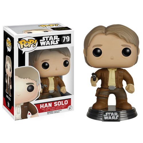 Star Wars VII Han Solo Pop! Vinyl Bobble Head