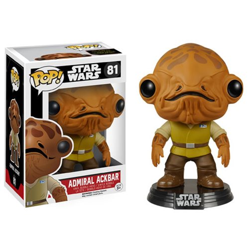 Star Wars VII Admiral Ackbar Pop! Vinyl Bobble Head