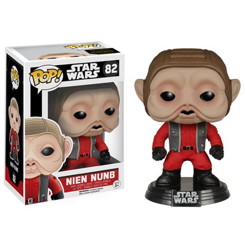 Star Wars VII Nien Nunb Pop! Vinyl Bobble Head