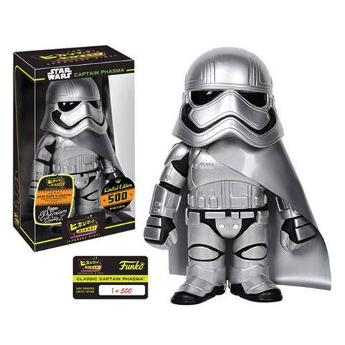 Star Wars Classic Captain Phasma Hikari Sofubi Vinyl Figure
