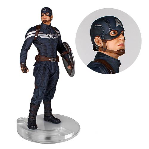 Captain America Stealth 1:4 Statue From The Winter Soldier