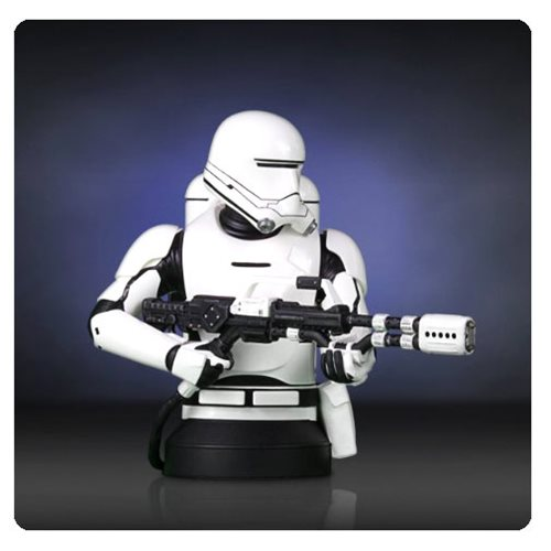 Star Wars The Force Awakens First Order Flametrooper Bust