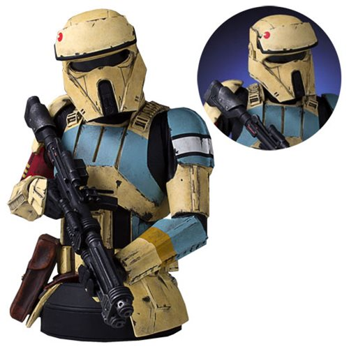 Star Wars Scarif Stormtrooper Mini Bust