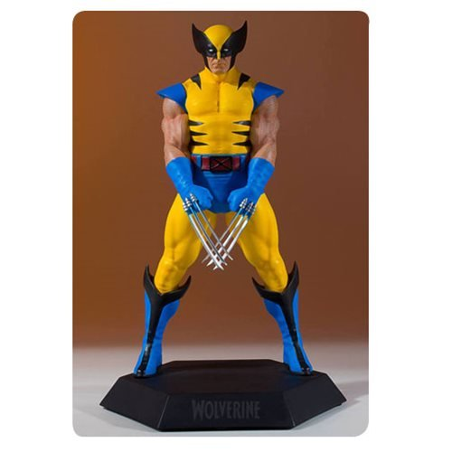 Wolverine Modern Yellow Collector's Gallery Statue