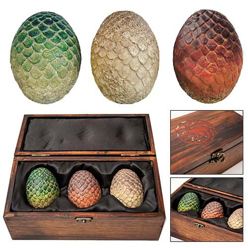 Game of Thrones Dragon Egg Prop Replica Set