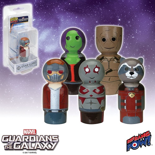 World Debut! Guardians of the Galaxy Pin Mate(TM) Figures!
