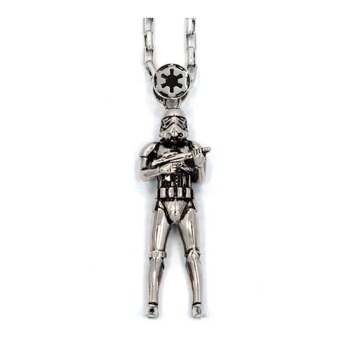 Daily Deal - 93% Off Stormtrooper Necklace!