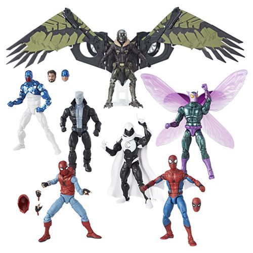 Amazing Spider-Man Marvel Legends Figures Wave 8