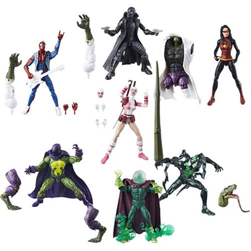 Amazing Spider-Man Marvel Legends Figures Wave 9 Case