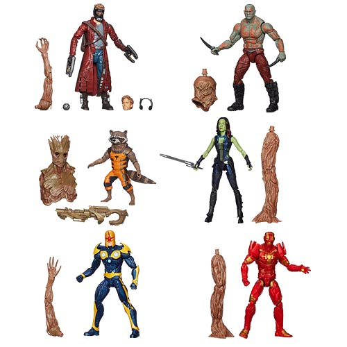 Guardians of the Galaxy Marvel Legends Action Figures Wave 1 - Free Shipping