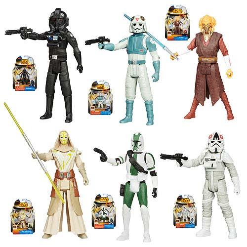 Star Wars Saga Legends Action Figures Wave 5 Set