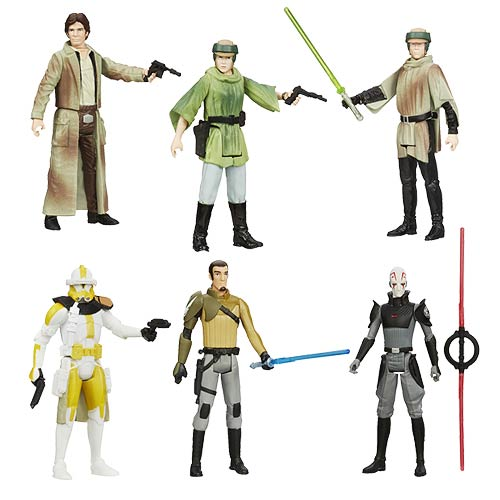 Star Wars Saga Legends Action Figures Wave 7 Set