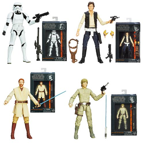 Star Wars Black Series 6-Inch Wave 3 with Bespin Luke and More