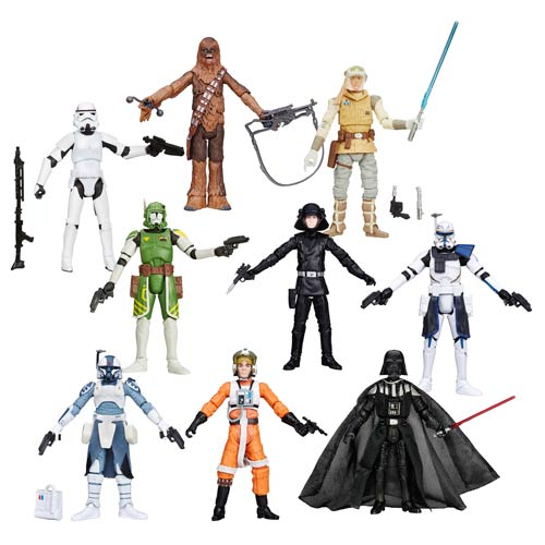 Star Wars Black Series 3 3/4-Inch Action Figures Wave 7 Case