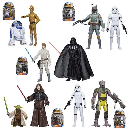 Star Wars Mission Series Action Figures Wave 4 Case