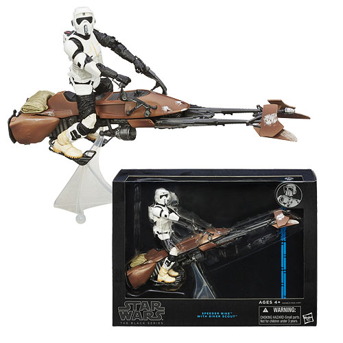 Star Wars Black Series Speeder Bike Vehicle