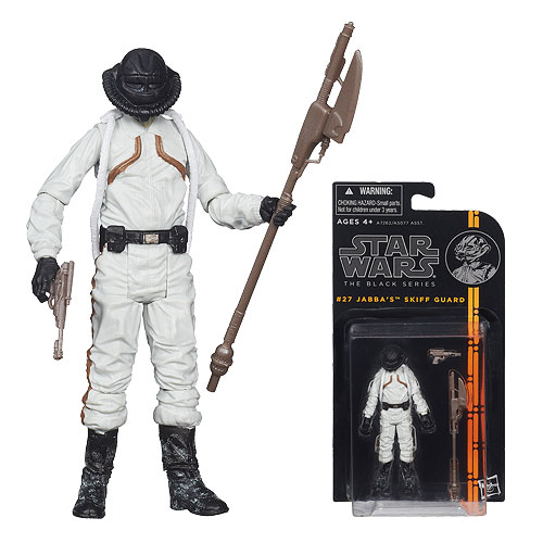 Star Wars Skiff Guard Brock Starsher 3 3/4-Inch Figure