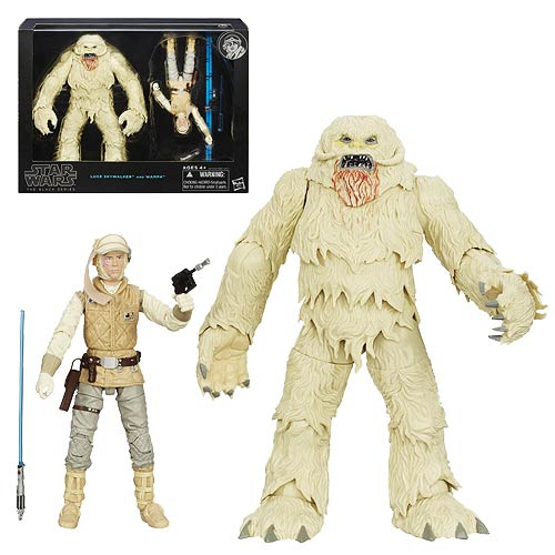 Star Wars Black Series Hoth Luke with Wampa 6-Inch Figures