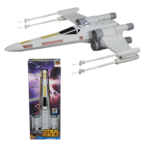 Star Wars Rebels Hero Series 31-Inch X-Wing Fighter Vehicle
