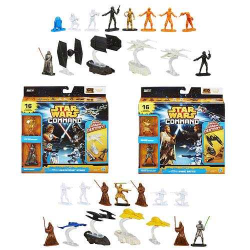 Star Wars Command Invasion Packs Battle Figures Wave 1 Set