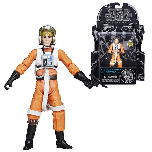 Star Wars Black Series Dutch Vander 3 3/4-Inch Action Figure