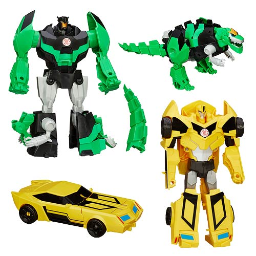 Transformers Robots in Disguise Hyper Change Heroes Wave 1