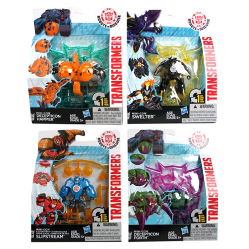 Transformers Robots in Disguise Mini-Cons Wave 3 Set