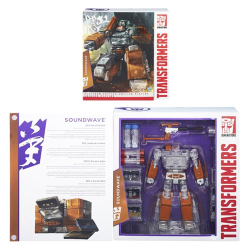 Transformers Platinum Masterpiece Soundwave