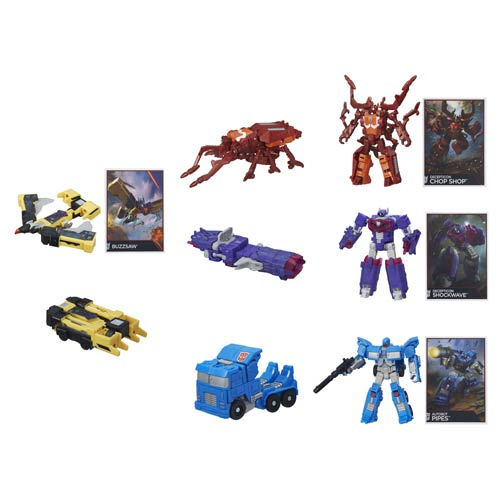 Transformers Generations Combiner Wars Legends Wave 5 Set