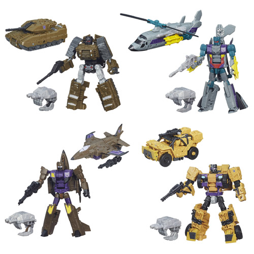 Transformers Generations Combiner Wars Deluxe Wave 5 Set