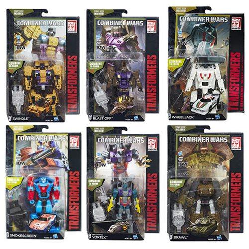 Transformers Generations Combiner Wars Deluxe Wave 6 Rev. 1