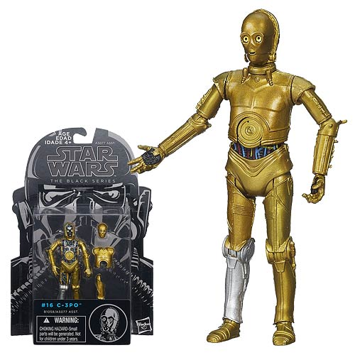 Star Wars Black Series C-3PO (ESB) 3 3/4-Inch Action Figure