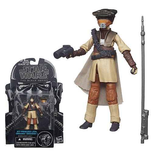 Star Wars Black Leia Boushh Disguise 3 3/4-Inch Figure