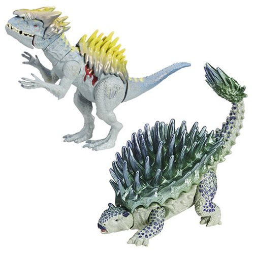 Jurassic World Bashers and Biters Dinosaur Figures Wave 5