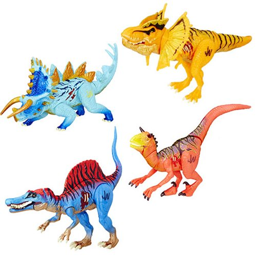 Jurassic World Bashers and Biters Dinosaur Figures Wave 6