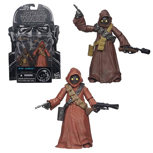 Star Wars The Black Series Jawas 2-Pack 3 3/4-Inch Figures