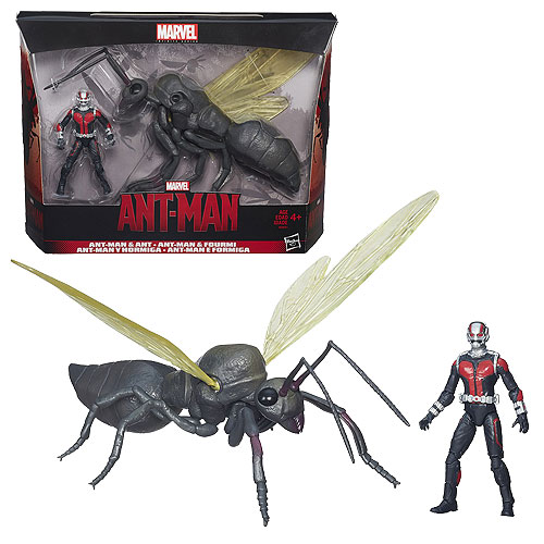 Ant-Man and Ant 3 3/4-Inch Action Figure and Creature Set