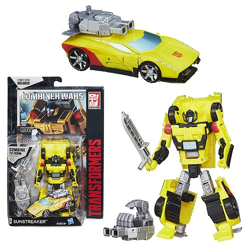 Transformers Generations Combiner Wars Deluxe Sunstreaker
