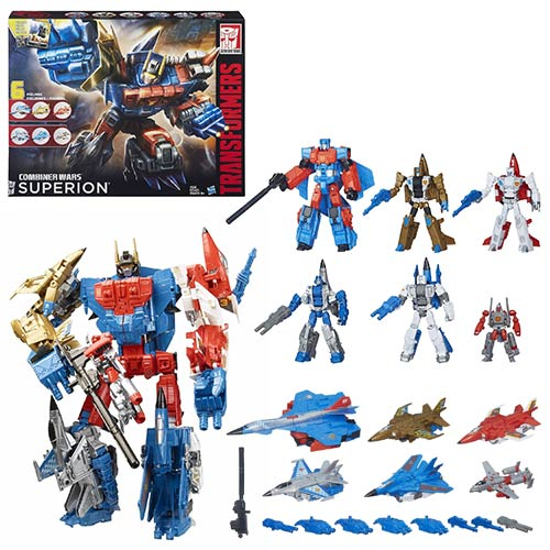 Transformers Combiner Wars G2 Superion Aerialbots Boxed Set