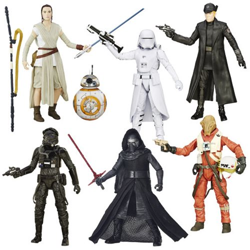 Star Wars VII Black Series 6-Inch Action Figures Wave 4 Case