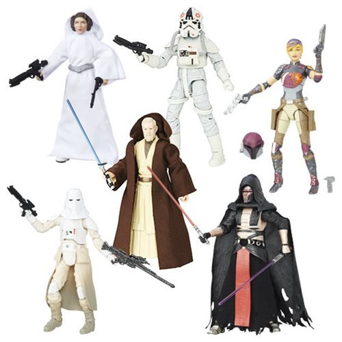 Star Wars The Black Series 6-Inch Action Figures Wave 9 Case