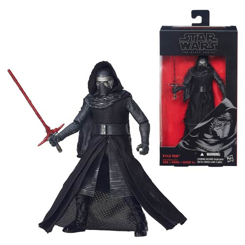 Star Wars Force Awakens Black Series Kylo Ren 6-Inch Figure
