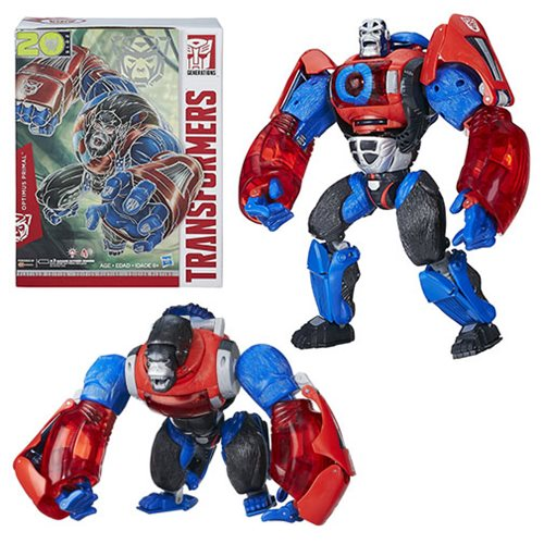 Get the Year of the Monkey Optimus Primal Here Before Anywhere Else!