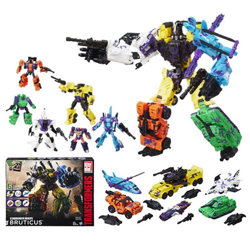 Transformers Combiner Wars G2 Bruticus Combaticons Boxed Set