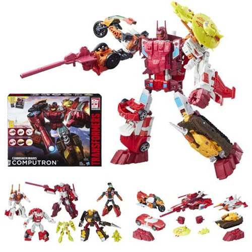 Transformers Combiner Wars Computron Technobots Boxed Set