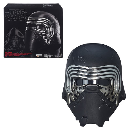 Star Wars TFA Kylo Ren Voice Changer Helmet Prop Replica