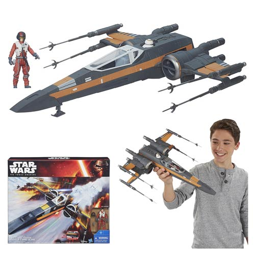 Star Wars TFA Resistance X-Wing Fighter Vehicle