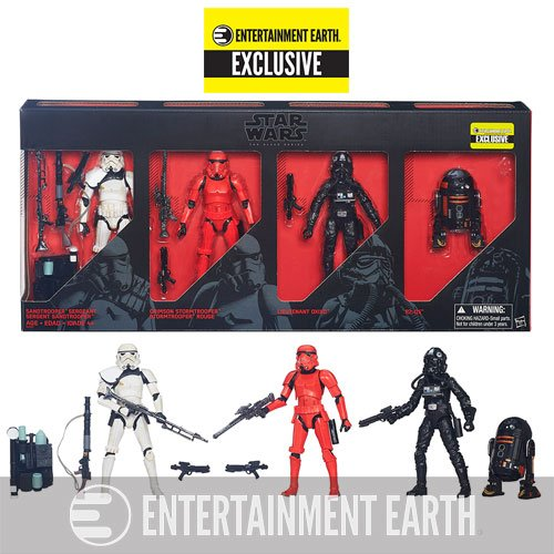 Star Wars Black Series 6-Inch Action Figures - Entertainment Earth Exclusive