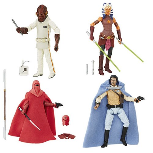 Star Wars The Black Series 3 3/4-Inch Action Figures Wave 3